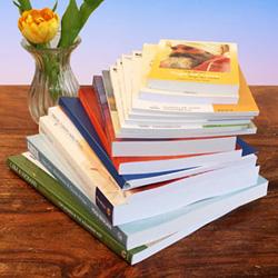 Yogabücher und Meditations-Bücher und DVDs