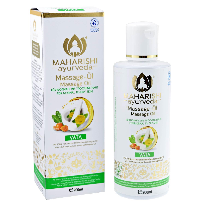 Vata Massage Oil Maharishi BDIH, 200 ml