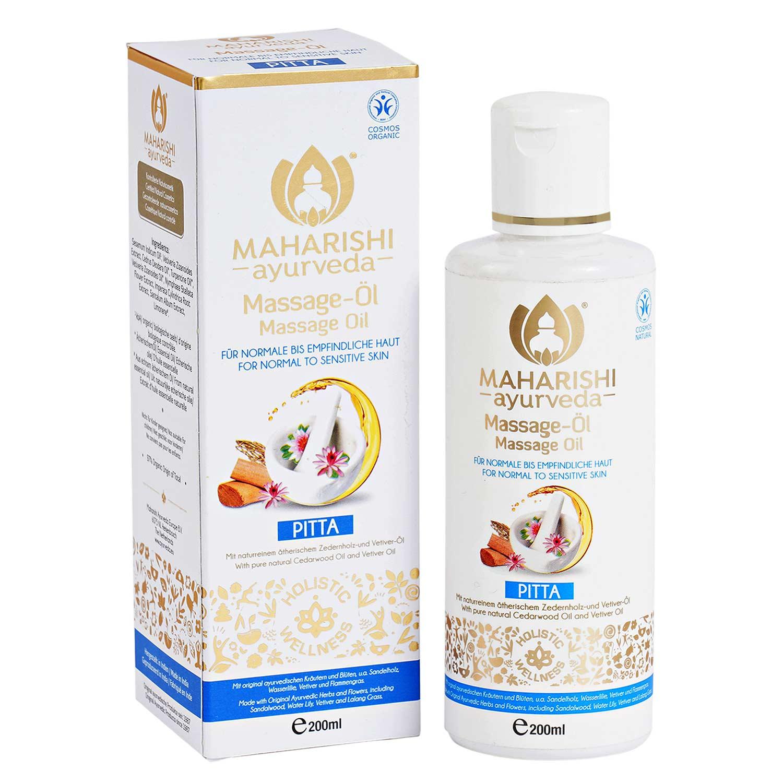 Pitta Massage Oil Maharishi BDIH, 200 ml