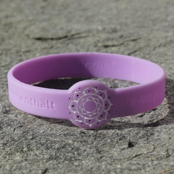 Mindlet Lotus bracelet, violet