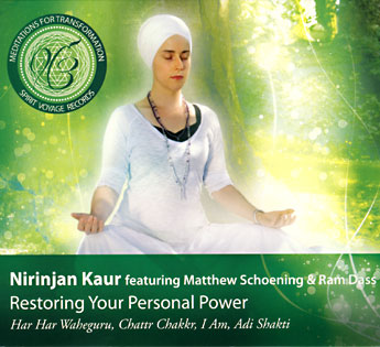 Restoring Your Personal Power - Nirinjan Kaur CD