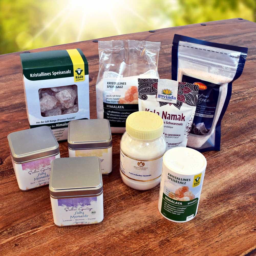 Kristallsalz, Black Salt, Gourmet-Salz