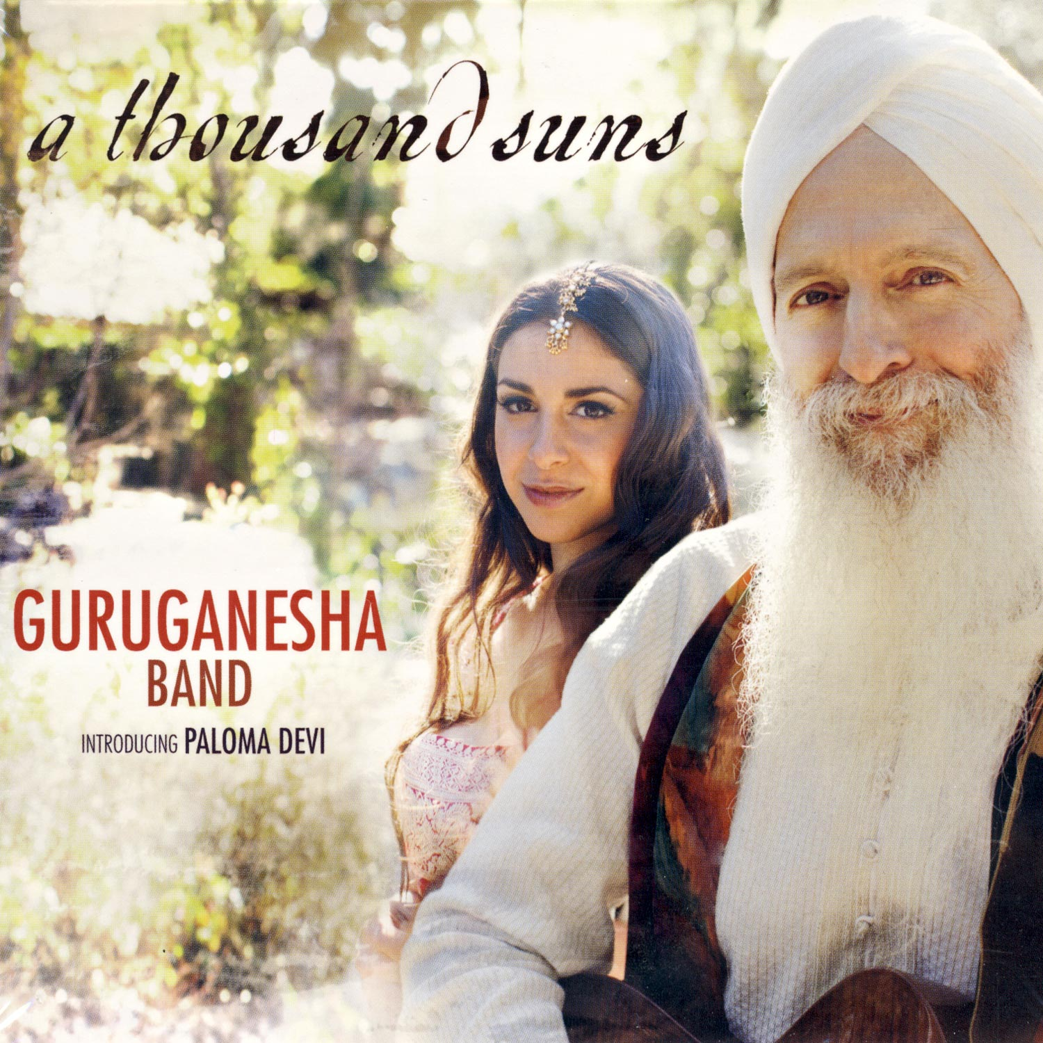 A Thousand Suns - GuruGanesha Band CD