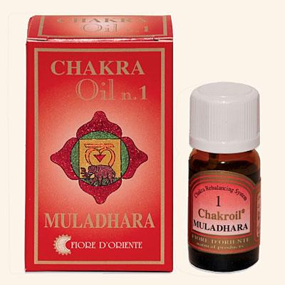 Muladhara Chakroil Fiore D'Oriente, 10 ml