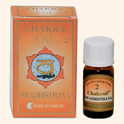 Swadisthana Chakroil Fiore D'Oriente, 10 ml