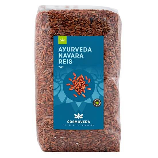 Red Ayurveda Navara Rice, organic
