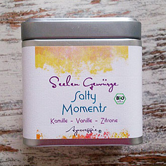 "Salty Moments ""Kamille-Vanille-Zitrone"" Bio, 150 g Dose"
