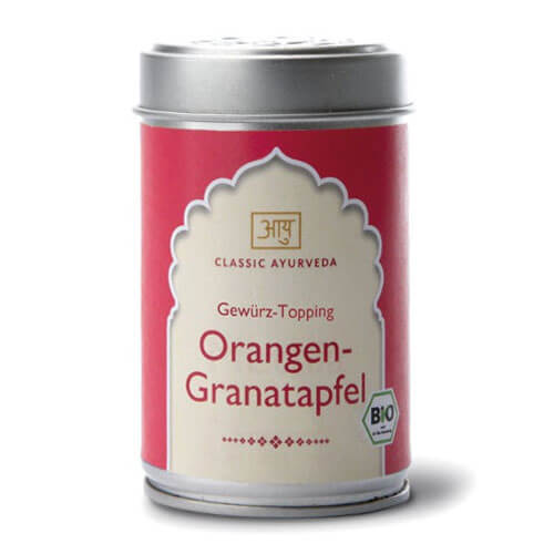 Orange & Pomegranate organic topping, 60 g<strong> </strong>