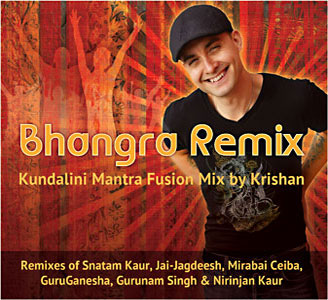 Bhangra Remix - Kundalini Yoga Fusion Mix by Krishan CD