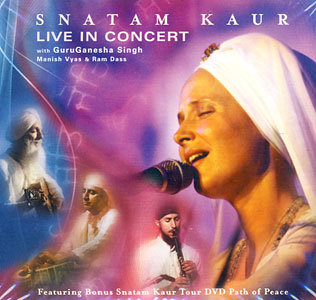 Snatam Kaur Live in Concert, CD + DVD Set