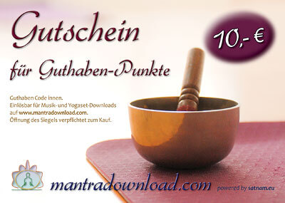 Mantra Download Gutschein 10 EUR