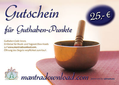 Mantra Download Gutschein 25 EUR