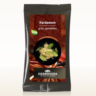 Cardamom ground (green), organic