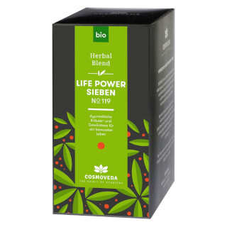 Life Power 7 Tea No.119 Cosmoveda organic, 25 teabags