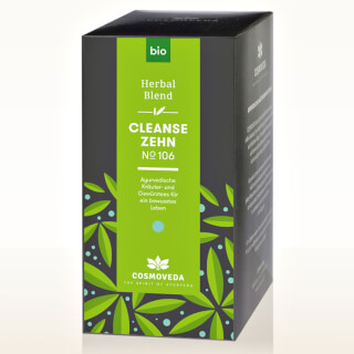 Cleanse 10 Tea No.106 Cosmoveda organic, 25 teabags