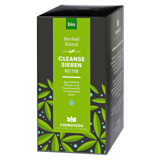 Cleanse 7 Tea No.118 Cosmoveda organic, 25 teabags