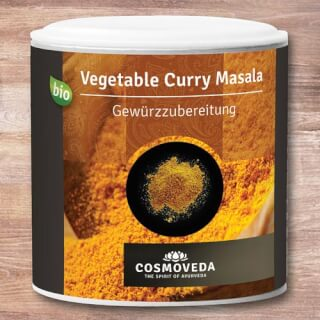 Vegetable Curry Masala Cosmoveda biologique, 80 g