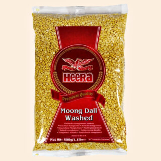 Moong Dall Heera - yellow Mung beans peeled, 500 g