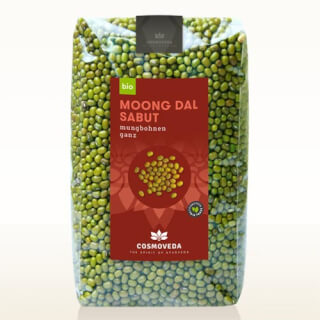 Moong Dal, green Mung Beans, whole, organic