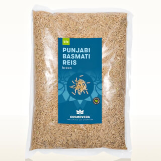 Basmati Rice BROWN, organic Punjabi