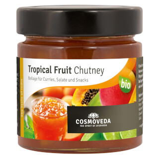 Tropical Fruit Chutney Cosmoveda bio, 225 g