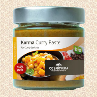 Korma Curry Paste Bio, 175 g