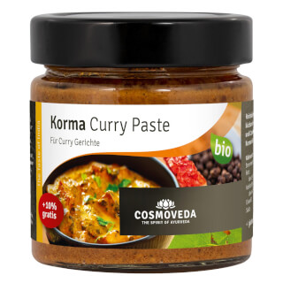 Korma Pâté de Curry bio, 175 g
