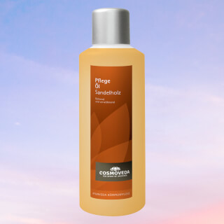 Body care oil Sandalwood, by Cosmoveda, 1 liter