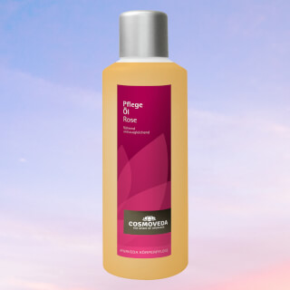 Body care oil Rose, by Cosmoveda, 1 liter