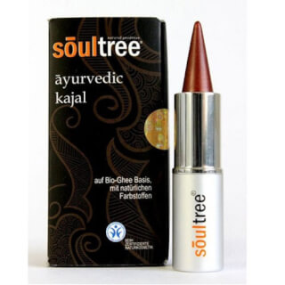 SoulTree Ayurvedic Kajal Copper, 3 g