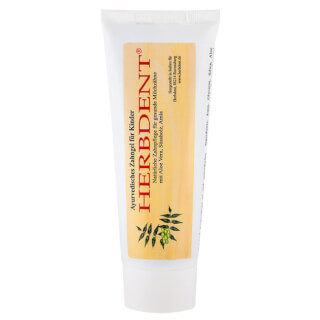 Herbdent Ayurvedic Tooth Gel for Children, 80 ml