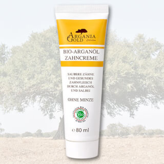 Argania Gold organic Argan Oil toothpaste, 80 ml