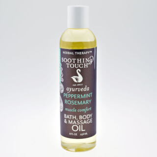 Peppermint & Rosemary Body Spa Oil, 236 ml