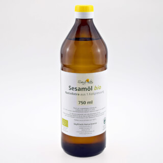Sesame Oil organic Virgin Extra (Seyfried)