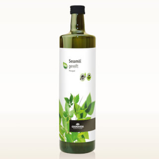 Sesame Oil matured, organic (Cosmoveda)