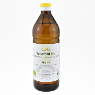Sesame Oil matured, organic (Seyfried)