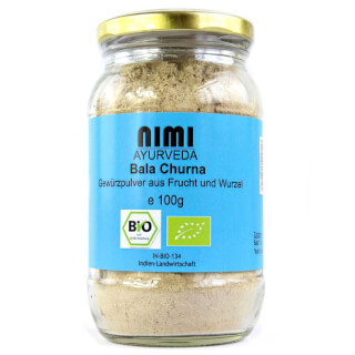 Bala Indian Mallow Churna organic, 100 g (glass)