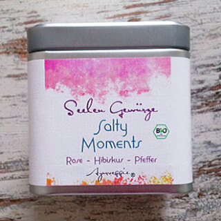"Salty Moments ""Rose-Hibiscus-Pepper"" organic, 150 g Tinbox"