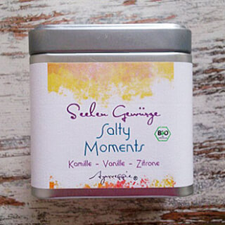 "Salty Moments ""Chamomile-Vanilla-Lemon"" organic, 150 g Tinbox"