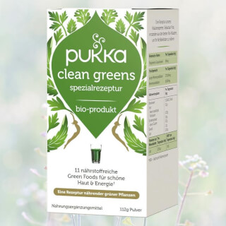 Clean Greens organic, Pukka, 112 g (powder)