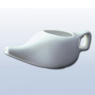 Neti Pot porcelain, Snow White