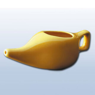Neti Pot porcelain, Yellowcorn