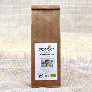 Cardamom ground (green), organic, 50 g