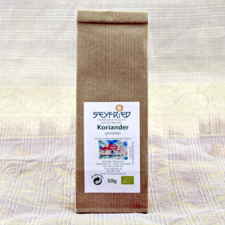 Coriander powder ground, organic, 50 g
