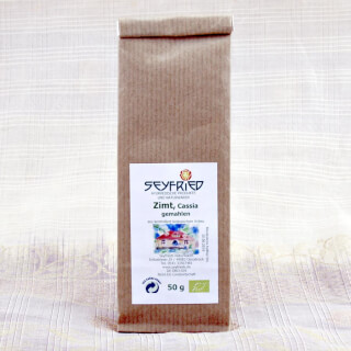 Cinnamom (Cassia) ground, organic, 50g
