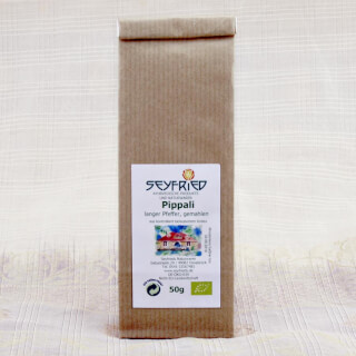 Pippali long pepper, ground, organic, 50 g