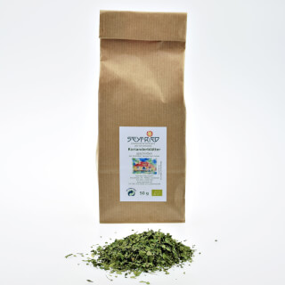Coriander leaves cut, organic, 50 g