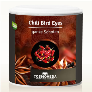 "Chili (Piment) entier ""Bird Eye"", bio (Cosmoveda)"