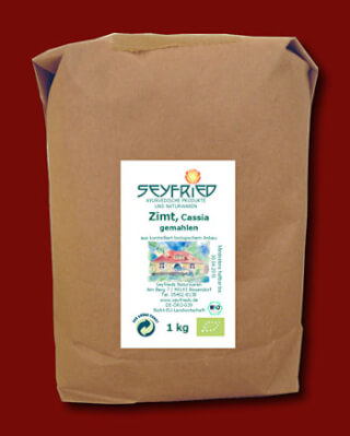 Cinnamom (Cassia) ground, organic, 1kg