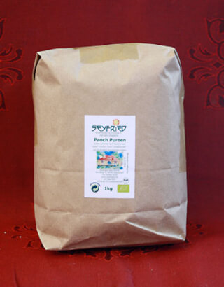 Panch Pureen Five-Spices whole, organic, 1 kg large pack